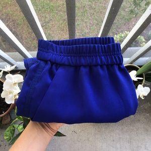 J Crew Sporty Blue Skirt